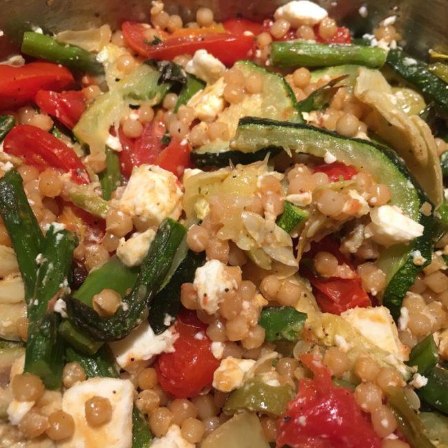 veggie couscous TWEAD